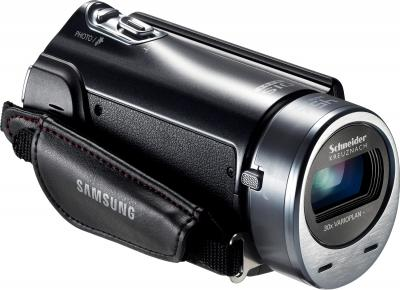 Видеокамера Samsung HMX-H400BP - вид сбоку (справа)
