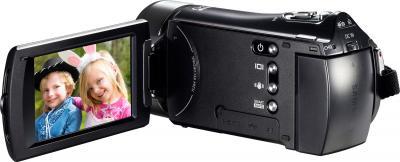 Видеокамера Samsung HMX-H400BP - вид сзади