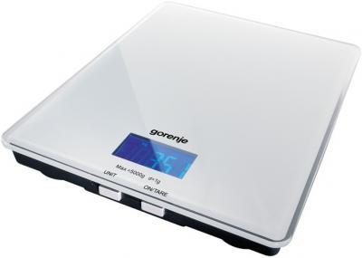 Кухонные весы Gorenje KT05W - вполоборота