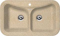 Мойка кухонная Florentina Крит-860 (Sand) - общий вид