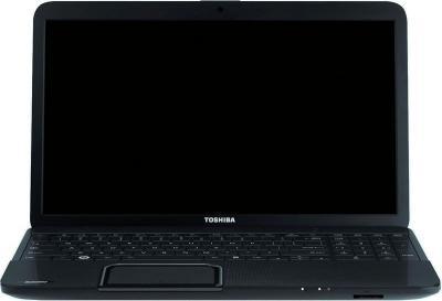 Ноутбук Toshiba Satellite C870-D7K (PSC8CR-00G001RU) - фронтальный вид