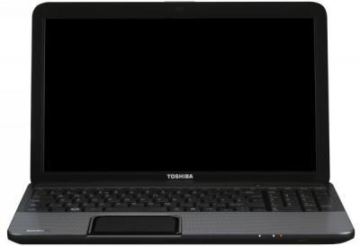 Ноутбук Toshiba Satellite C850D-D6S (PSCC4R-001001RU) - фронтальный вид