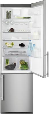 Холодильник с морозильником Electrolux EN3850AOX - общий вид