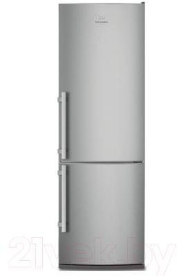 Холодильник с морозильником Electrolux EN3850AOX