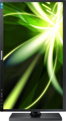 Монитор Samsung S22C450BW (LS22C45KBW/CI) - фронтальный вид (поворот)