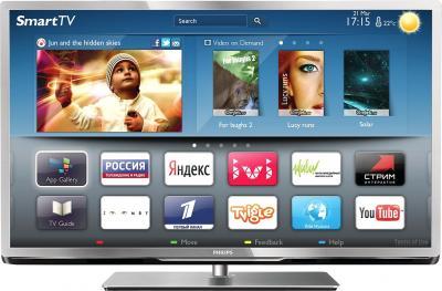 Телевизор Philips 46PFL5527T/60 - общий вид