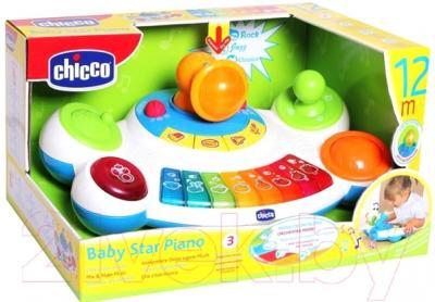 Музыкальная игрушка Chicco Пианино Маленькая звездочка (60077)