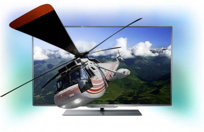 Телевизор Philips 55PFL8007T/12 - подсветка Ambilight