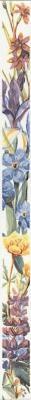 Декоративная плитка Kerama Marazzi Ноттингем Цветы NT\A92\15028 (400х30)