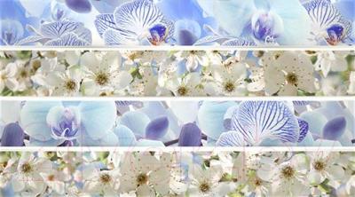Декоративная плитка Ceradim Vanda Mosaic Blue (450x250)