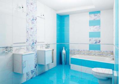 Декоративная плитка для ванной Ceradim Vanda Mosaic Blue (450x250)
