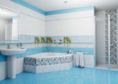 Декоративная плитка для ванной Ceradim Palm Panno B (450x250)