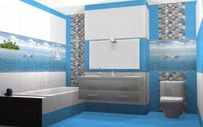 Декоративная плитка для ванной Ceradim Ocean (450x250)