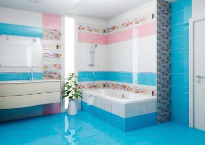 Декоративная плитка для ванной Ceradim Relax 1 (450x250)