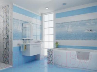 Декоративная плитка для ванной Ceradim Панно Regata (500x450)