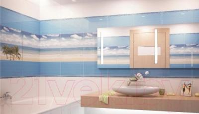 Декоративная плитка для ванной Ceradim Tropic 3 (450x250)