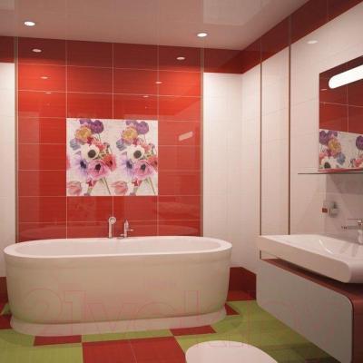 Плитка для стен ванной Ceradim Red (450x250)