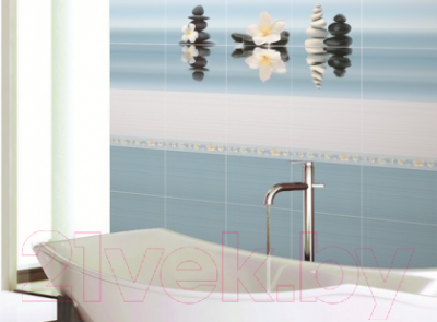 Бордюр для ванной Дельта Керамика Dream B300D185 (300x45)