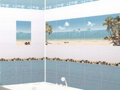 Декоративная плитка для ванной Дельта Керамика Mauritius D1D138 (300x200)