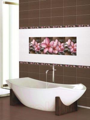 Декоративная плитка для ванной Дельта Керамика Панно Sauna P4D174 (600x400)