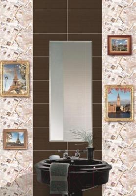 Бордюр для ванной Дельта Керамика Newspapers B300D130 (300x45)