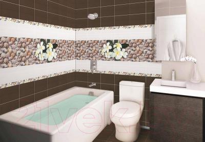 Декоративная плитка для ванной Дельта Керамика Панно Seashore P4D173 (600x400)