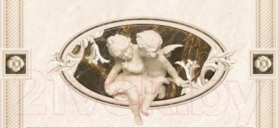 Декоративная плитка Intercerаmа Fenix Д 93 071 2 (500x230, серый)
