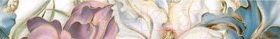 Бордюр для ванной Intercerаmа Batik БВ 83 071 (500x70, серый)