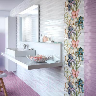 Плитка для стен ванной Intercerаmа Batik 2350 83 071 (500x230, светло-серый)