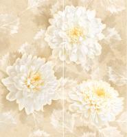Декоративная плитка для ванной Intercerаmа Панно Elegance П 81 021 (500x460, бежевый) -
