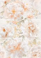 Декоративная плитка для ванной Intercerаmа Панно Geos П 90 071 (690x500, серый) -