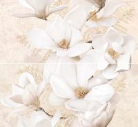 Декоративная плитка для ванной Intercerаmа Панно Emperador П 66 031 (500x460, коричневый) -