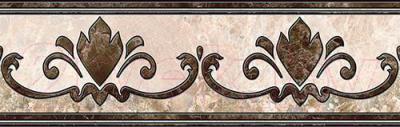 Бордюр Intercerаmа Emperador БВ 66 031 (430x137, коричневый)