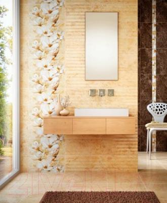 Плитка для пола ванной Intercerаmа Emperador 4343 66 031 (430x430, светло-коричневый)