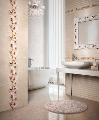 Бордюр для ванной Intercerаmа Este БВ 65 021 (500x70, бежевый)