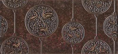 Декоративная плитка Intercerаmа Nobilis Д 68 032 (500x230, темно-коричневый)