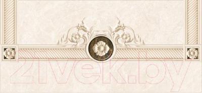 Декоративная плитка для ванной Intercerаmа Fenix Д 93 071 (500x230, серый)