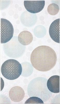 Декоративная плитка Intercerаmа Confetti Д 18 071 (400x230, серый)