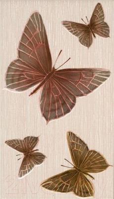 Декоративная плитка Intercerаmа Fantasia Д 09 021 (400x230, бежевый)