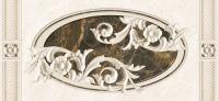 Декоративная плитка для ванной Intercerаmа Fenix Д 93 071 1 (500x230, серый) -