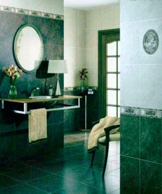 Плитка для пола ванной Intercerаmа Pietra 4343 20 012 (430x430, зеленый)