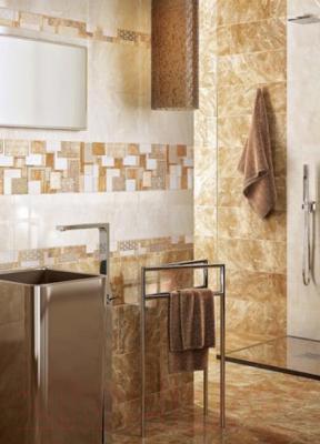 Плитка для стен ванной Intercerаmа Viking 2360 102 022 (600x230, темно-бежевый)