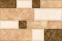 Плитка для стен кухни Intercerаmа Grani 2335 74 031 (350x230, светло-коричневый) -
