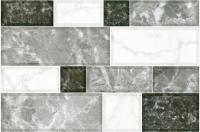 Плитка для стен кухни Intercerаmа Grani 2335 74 071 (350x230, светло-серый) -