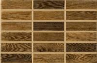 Плитка для стен кухни Intercerаmа Madera 2335 51 032 (350x230, темно-коричневый) -