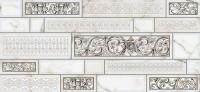 Декоративная плитка для кухни Intercerаmа Plaza Д 95 071 (500x230, серый) -