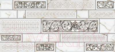 Декоративная плитка для кухни Intercerаmа Plaza Д 95 071 (500x230, серый)