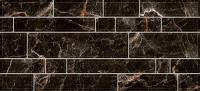 Плитка для стен кухни Intercerаmа Plaza 2350 95 082 (500x230, черный) -