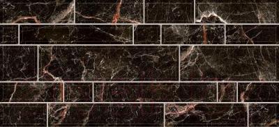 Плитка Intercerаmа Plaza 2350 95 082 (500x230, черный)