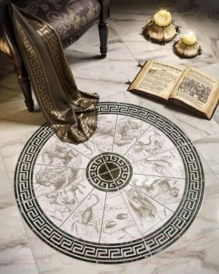 Декоративная  плитка для пола Intercerаmа Вставка Alon ДН 39 071 (137x137, серый)
